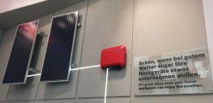 Bosch zeigt die Steuerung der Waschmaschine und Trockner mit dem SMA Sunny Home Manager