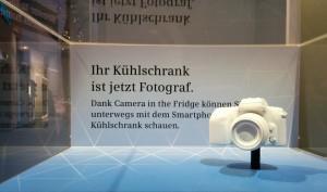 Kühlscrank von Siemens mit 2 Kameras