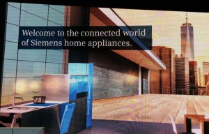 Connected World of Siemens Home Appliances